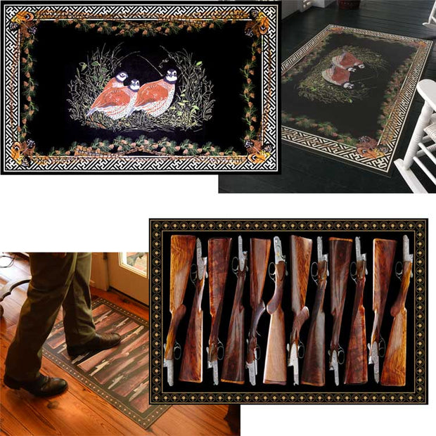 Kevin's 2ft x 3ft Vinyl Floor Cloth-HOME/GIFTWARE-Spicher & Co.-FOX AND HORN-Kevin's Fine Outdoor Gear & Apparel