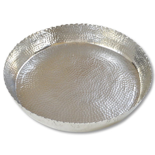 Wide Base Hammered Bowl
