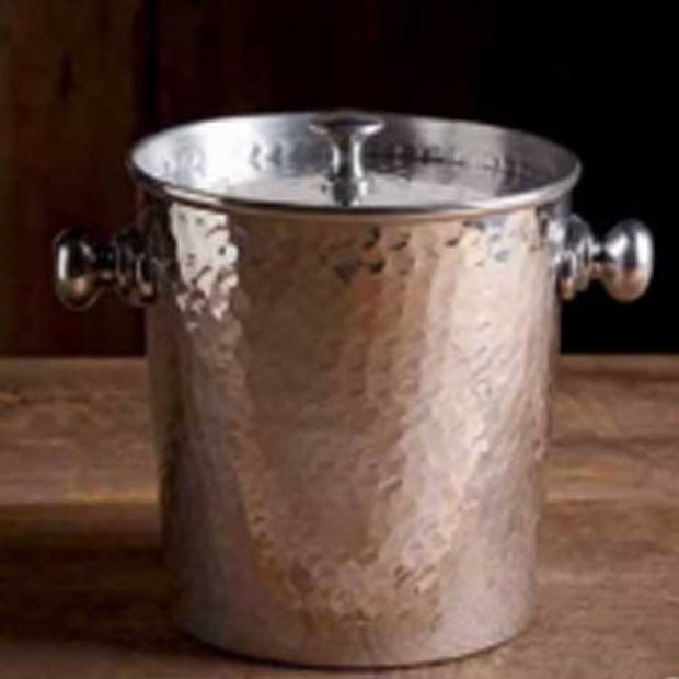 Hammered Lined Ice Bucket