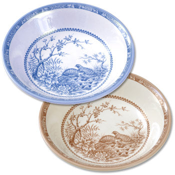 New Shape and Pattern! Quail China - Cereal Bowl