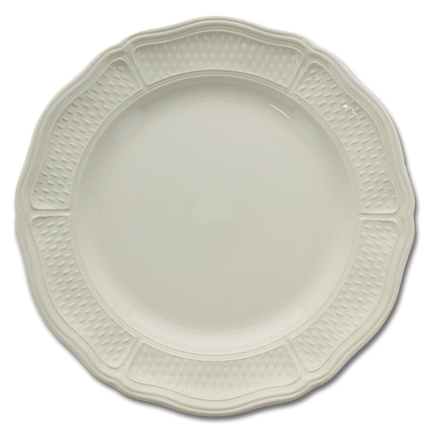 Pont Aux Choux Dinner Plate-white