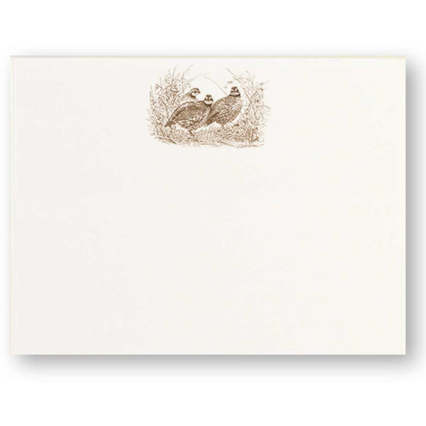 Sporting Note Card Sets-HOME/GIFTWARE-Maison De Papier-ELEGANT QUAIL-Kevin's Fine Outdoor Gear & Apparel