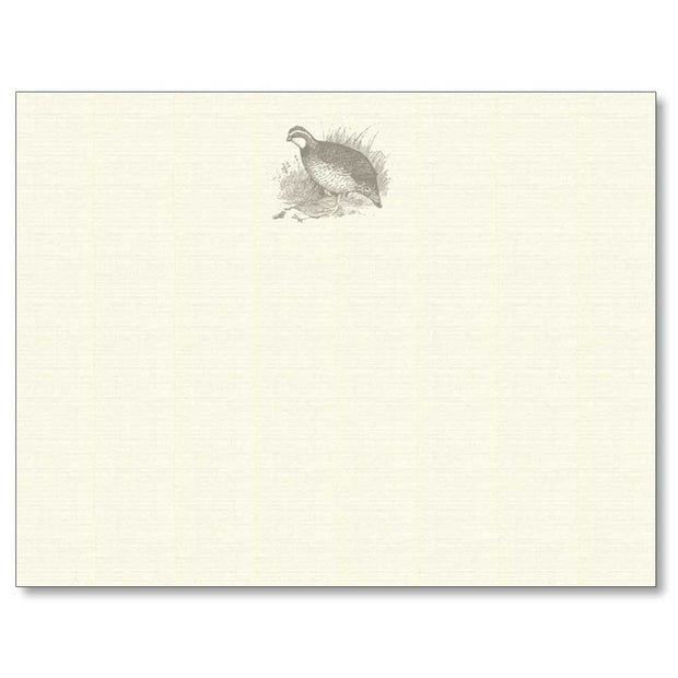 Sporting Note Card Sets-HOME/GIFTWARE-Maison De Papier-QUAIL-Kevin's Fine Outdoor Gear & Apparel