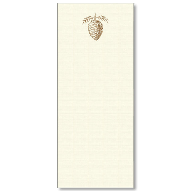 Maison de Papier Long Notepads-HOME/GIFTWARE-PINECONE-Kevin's Fine Outdoor Gear & Apparel