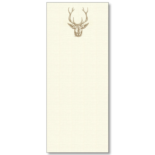 Maison de Papier Long Notepads-HOME/GIFTWARE-DEER-Kevin's Fine Outdoor Gear & Apparel