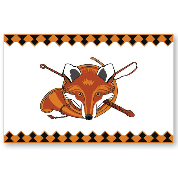 Kevin's Linen Placemats in Sporting Themes-HOME/GIFTWARE-Maison De Papier-FOX-Kevin's Fine Outdoor Gear & Apparel