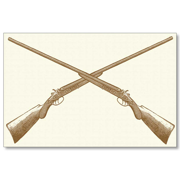 Kevin's Linen Placemats in Sporting Themes-HOME/GIFTWARE-SHOTGUNS-Kevin's Fine Outdoor Gear & Apparel