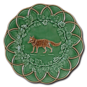 Bordallo China - Fox Dessert Plate