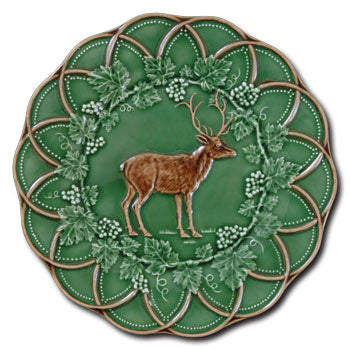 Bordallo China - Dessert Deer Plate