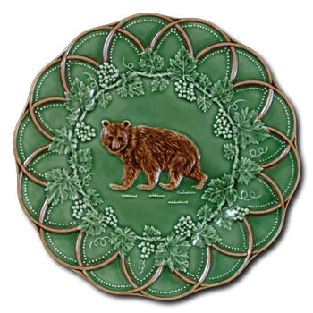 Bordallo China - Bear Dessert Plate