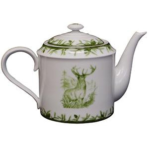 CE Corey Green Deer Tea Pot