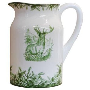 Green Deer Pitcher