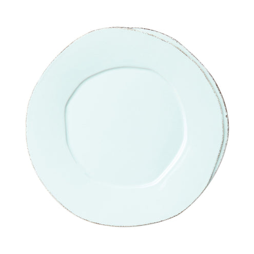 Vietri Lastra European Dinner Plate-HOME/GIFTWARE-AQUA-Kevin's Fine Outdoor Gear & Apparel