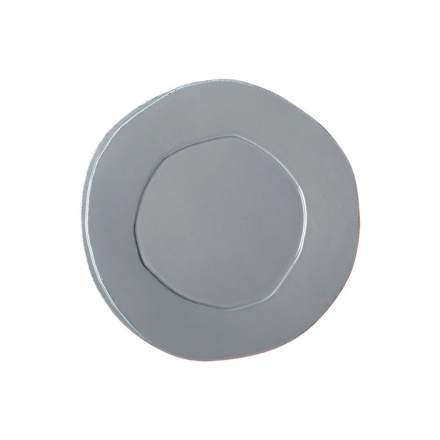 Vietri Lastra European Dinner Plate-HOME/GIFTWARE-GRAY-Kevin's Fine Outdoor Gear & Apparel