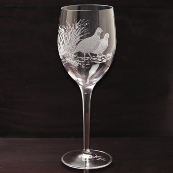 Kevin's Crystal White Wine Glass 13 oz.