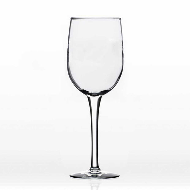 Kevin's Crystal White Wine Glass 13 oz.-HOME/GIFTWARE-Evergreen Crystal , Inc.-Unetched-Kevin's Fine Outdoor Gear & Apparel