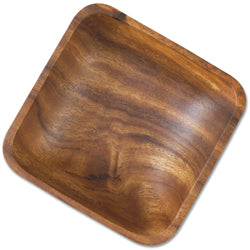 Wooden Lodge Single Salad Bowl