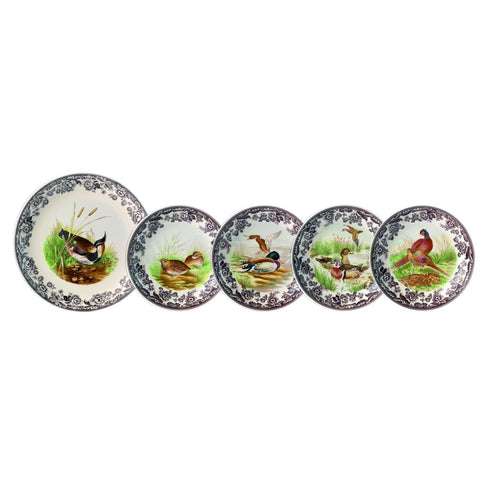 5 piece Woodland Pasta Bowl Set