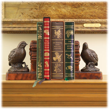 Kevin's Quail Bookends