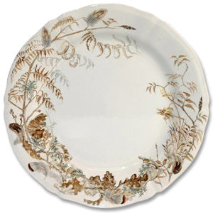 Sologne Game China - Rimmed Soup Bowl