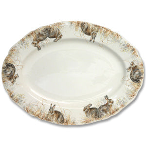 Game China - Oval Platter
