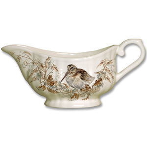 Gien Game China  Sauce Boat
