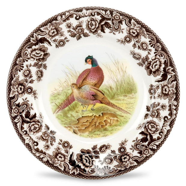 Spode Woodland Salad Plate-HOME/GIFTWARE-PHEASANT-Kevin's Fine Outdoor Gear & Apparel