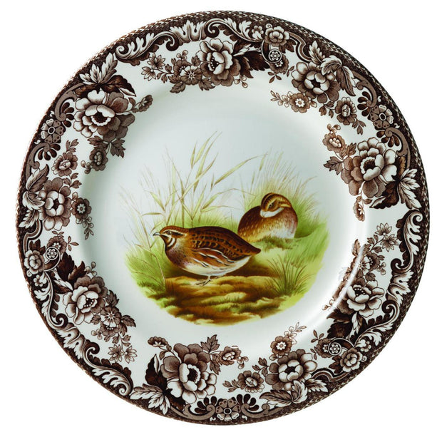 Spode Woodland Salad Plate-HOME/GIFTWARE-QUAIL-Kevin's Fine Outdoor Gear & Apparel