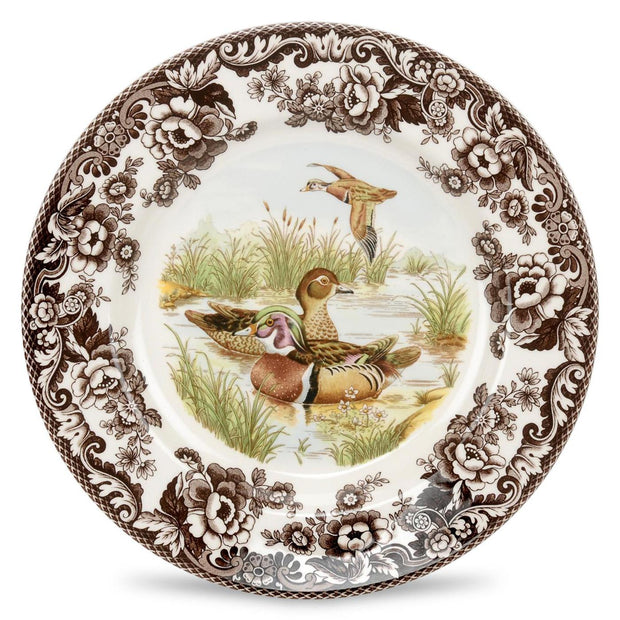 Spode Woodland Salad Plate-HOME/GIFTWARE-WOOD DUCK-Kevin's Fine Outdoor Gear & Apparel