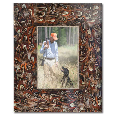 Kevin's Pheasant Feather Frame 4 x 6