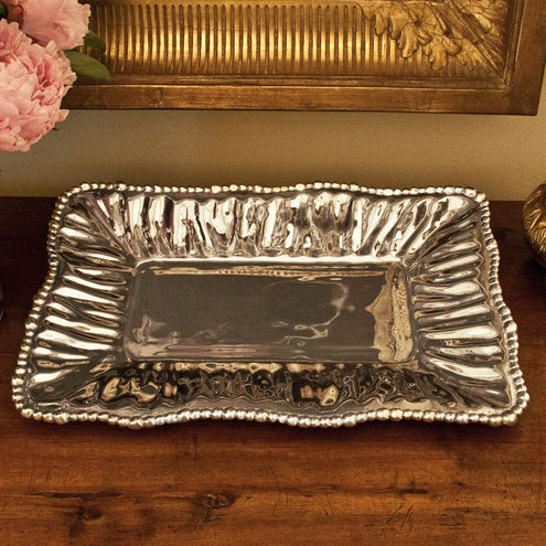 Organic Pearl Ava Tray Long