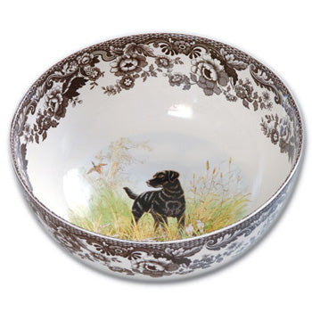 Spode Round Labrador Serving Bowl
