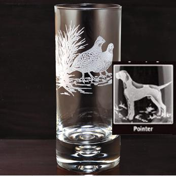 Kevin's Crystal Highball Glass 14 oz.-HOME/GIFTWARE-Evergreen Crystal , Inc.-POINTER-Kevin's Fine Outdoor Gear & Apparel