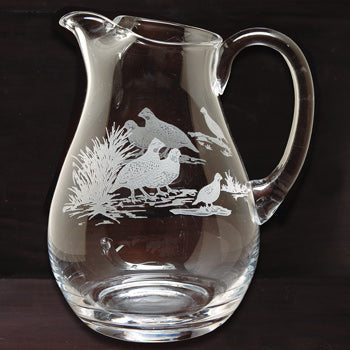Kevins Crystal 64 oz. Pitcher