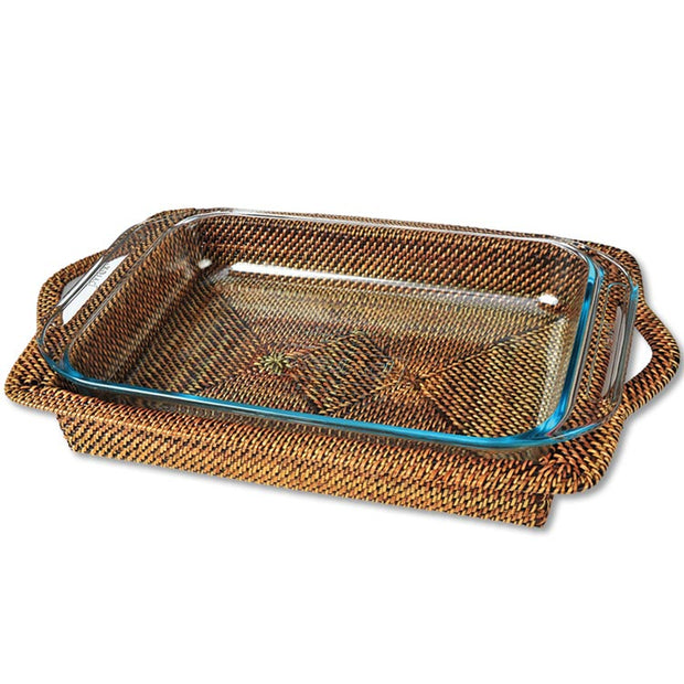 Wicker Rectangular Baker
