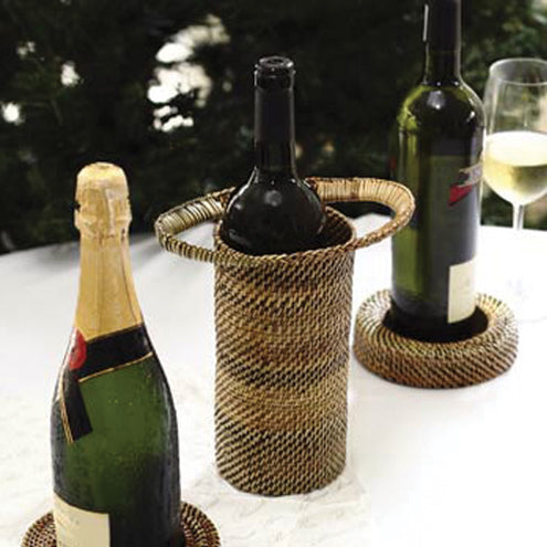 Wicker Wine Holder