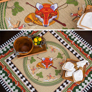 Kevin's Custom Designed Fox Hunt Tablecloth