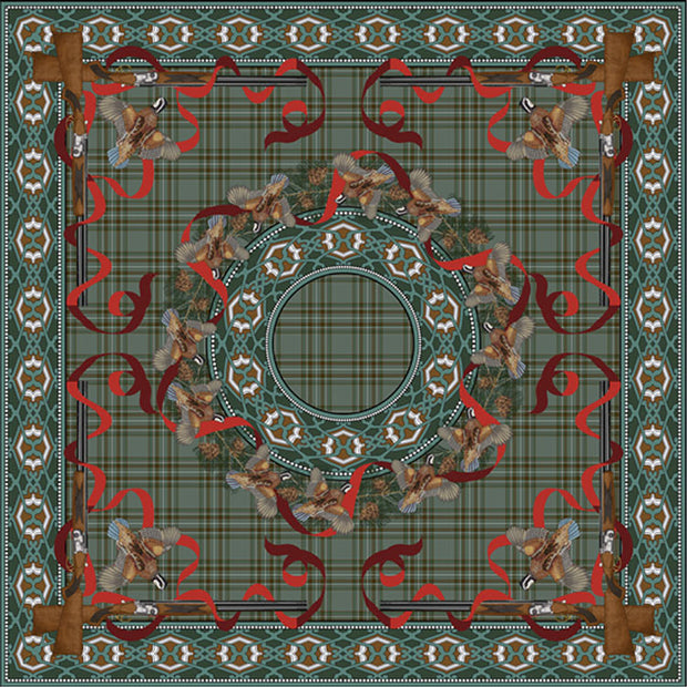 Kevin's Tartan Holiday Tablecloth-HOME/GIFTWARE-Kevin's Fine Outdoor Gear & Apparel-Holiday Tartan-Kevin's Fine Outdoor Gear & Apparel