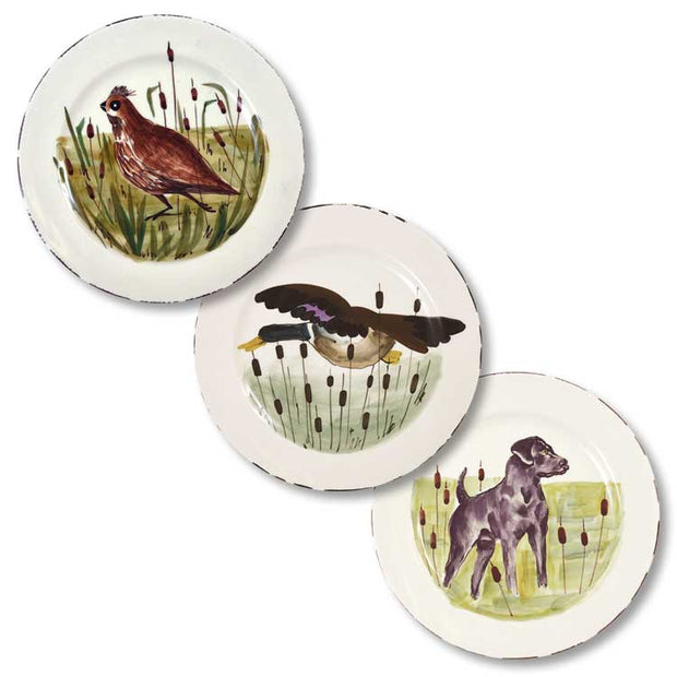 Vietri Wildlife Salad Plate