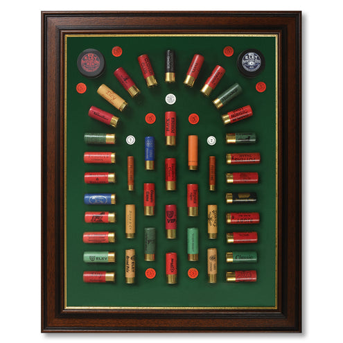 Handmade English Paper Shotshell Arched Cartridge Board