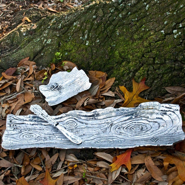 Forest Corteza Log Tray