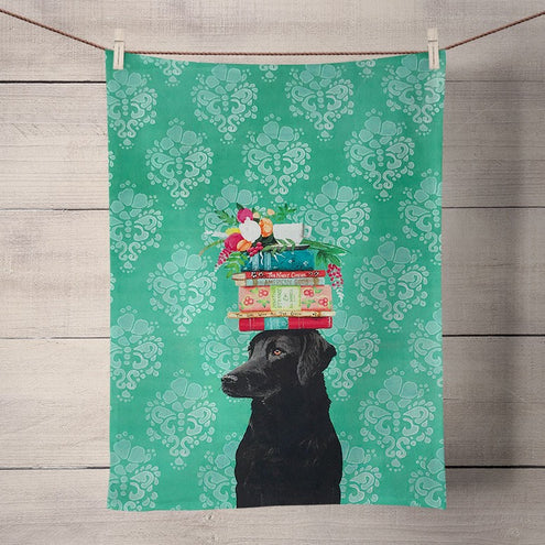 "Tea Towel's 21"" x 28"" 100% Cotton-HOME/GIFTWARE-Greenbox Art-BEST FRIEND LAB-Kevin's Fine Outdoor Gear & Apparel"