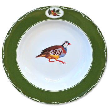 Quail China - Rim Soup Bowl