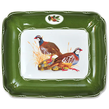 Quail China - Square Bowl