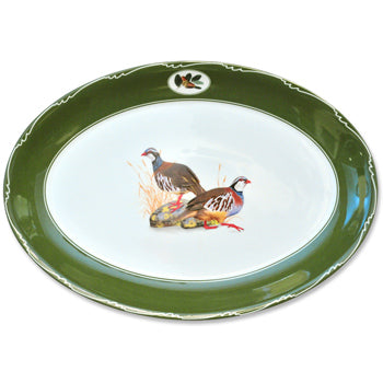 Quail China - Oval Platter