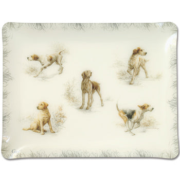 Sporting Dog Collection - Melamine Tray