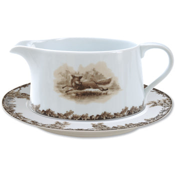CE Corey Fox Run - Gravy Boat with Saucer