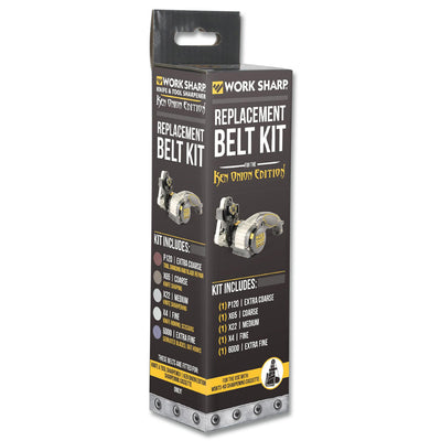 Ken Onion Work Sharp Replacement Belt Kit