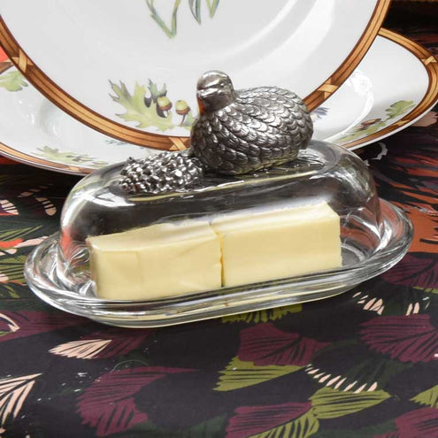 Kevin's Quail Butter Dish