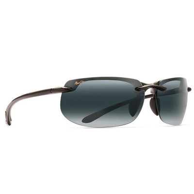 "Maui Jim ""Banyans"" Polarized Sunglasses-SUNGLASSES-Gloss Black-Neutral Grey-Kevin's Fine Outdoor Gear & Apparel"